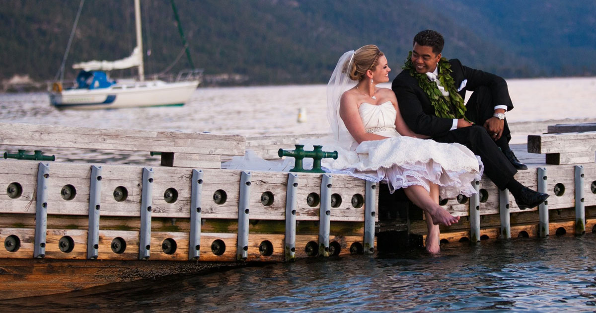 lakefront wedding in North Lake Tahoe
