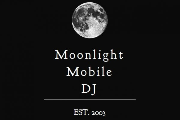 Logo for Moonlight Mobile DJ Member of Tahoe Wedding Industry Group