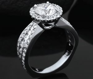 diamond engagement ring from Steve Schmier's Jewelry Tahoe City