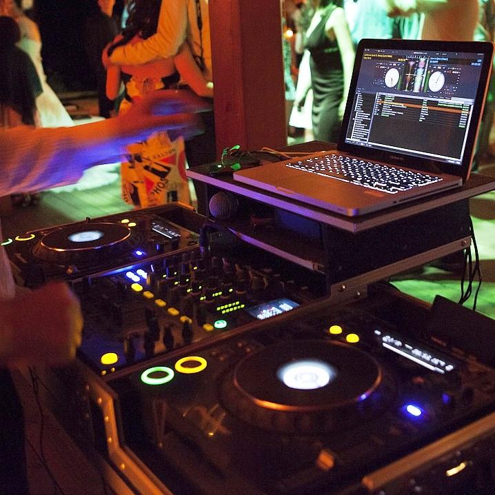DJ's Mixing Equipment