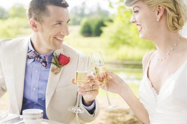 Kentucky Derby themed wedding