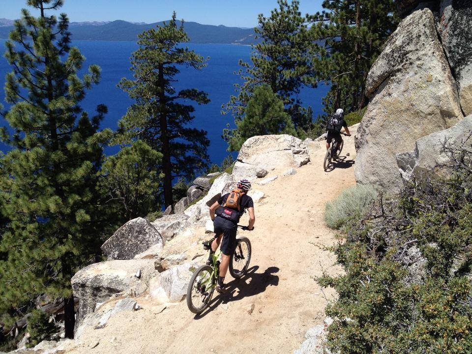 Flume Trail above Lake Tahoe