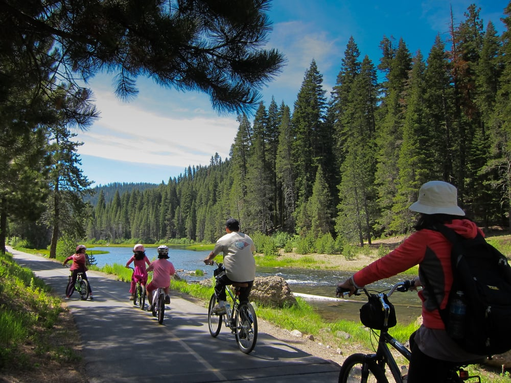 Truckee River bike path