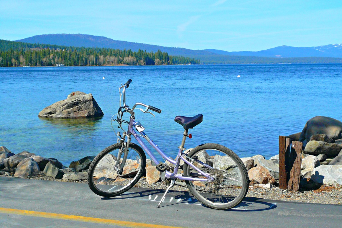 Bike Path West Shore Lake Tahoe