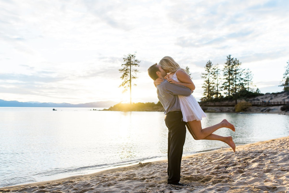 Sand Harbor Lake Tahoe beach proposal