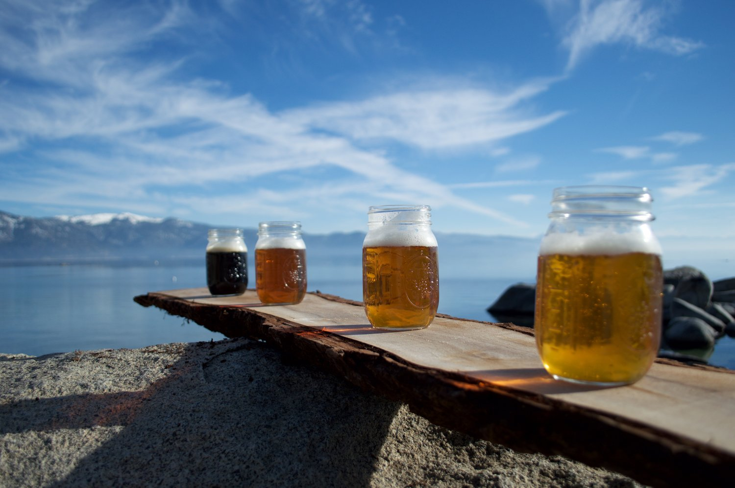 craft beer tours Lake Tahoe wedding