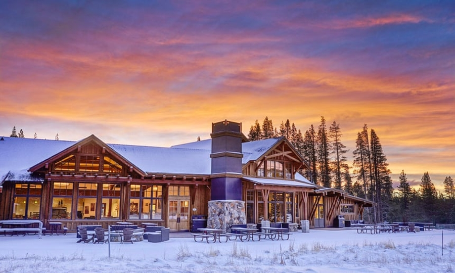 Truckee Wedding Venue Alder Creek Adventure Center Tahoe Donner