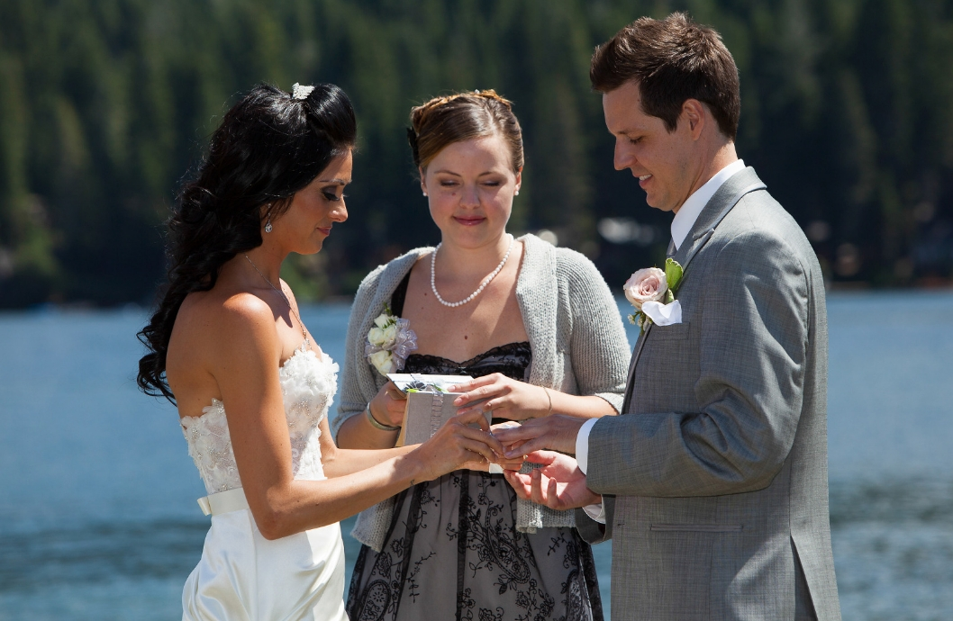 Tahoe Wedding at West End Beach Donner Lake