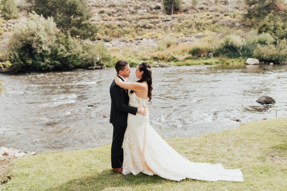 Tahoe Wedding at Truckee River Regional Park