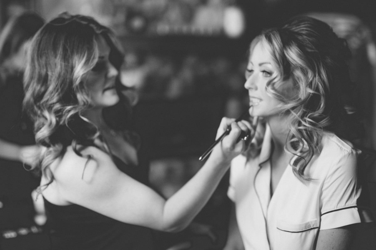Trial appointment for hair and makeup with Love Is In The Hair Lake Tahoe wedding