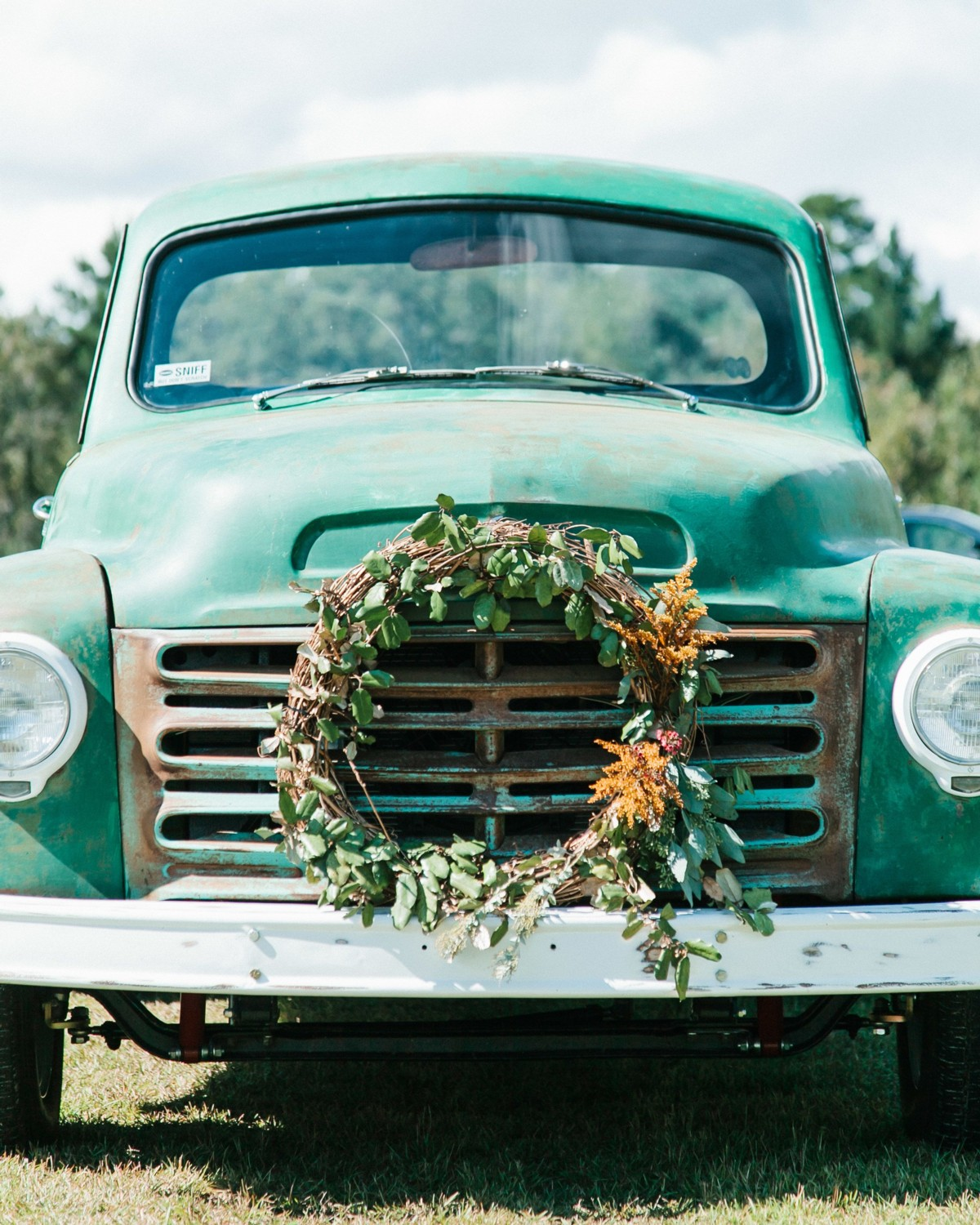 Wedding Transportation Vintage Truck