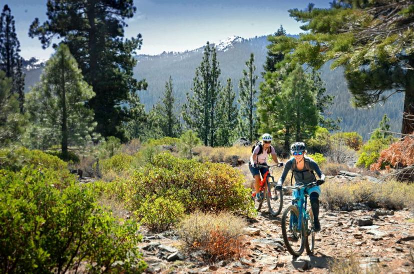 Mountain Biking Lake Tahoe wedding group activities