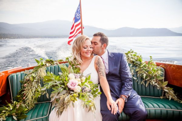 Nautical nuptials Lake Tahoe wedding