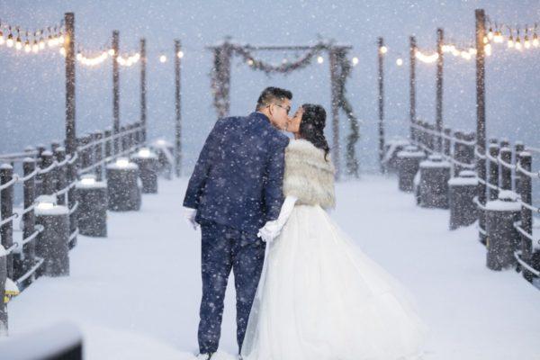 Lake Tahoe Wedding Winter at West Shore Cafe