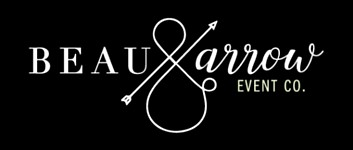 Beau & Arrow Event Company logo - Lake Tahoe wedding planner