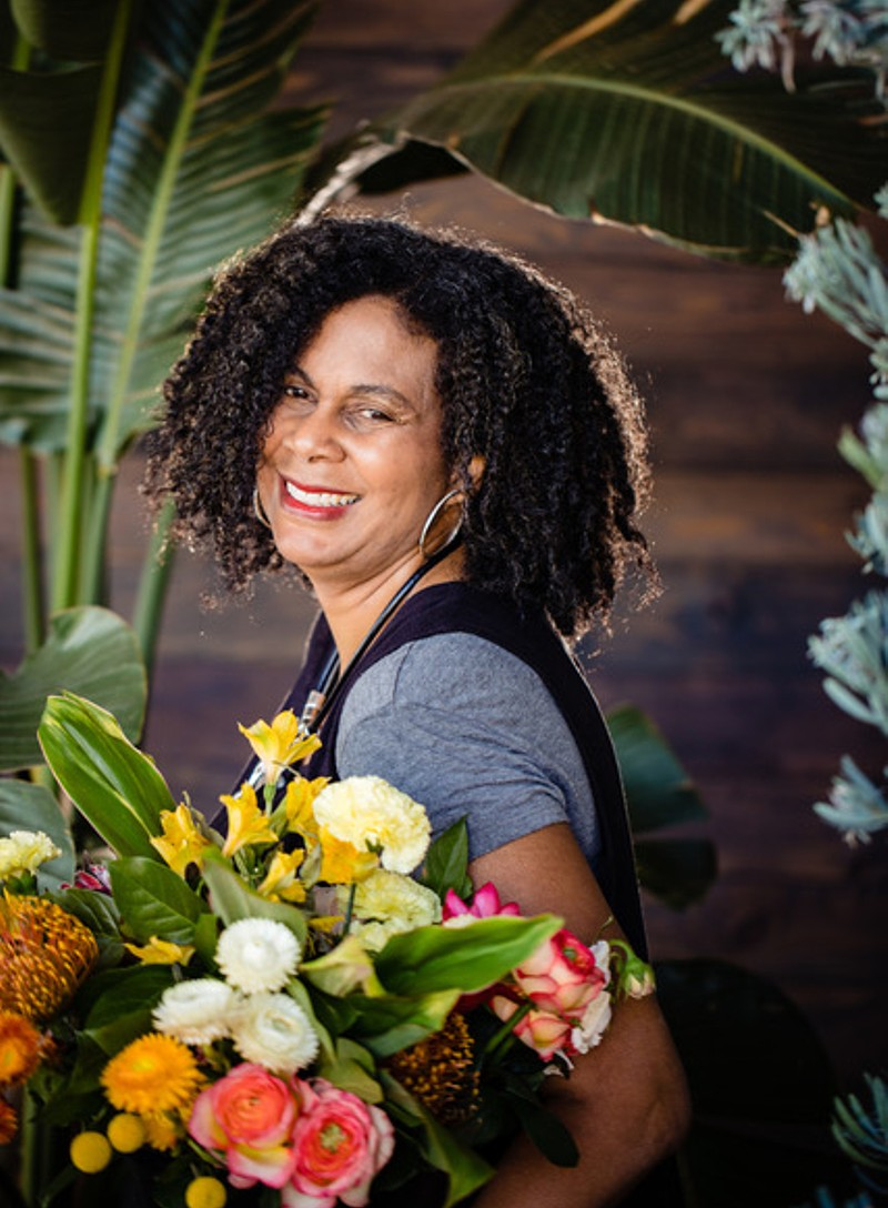 Gina Lett Shrewsberry - Inspirations by Gina - florist in Northern California