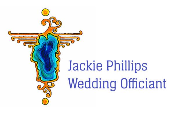 Jackie Phillips Wedding Officiant Logo