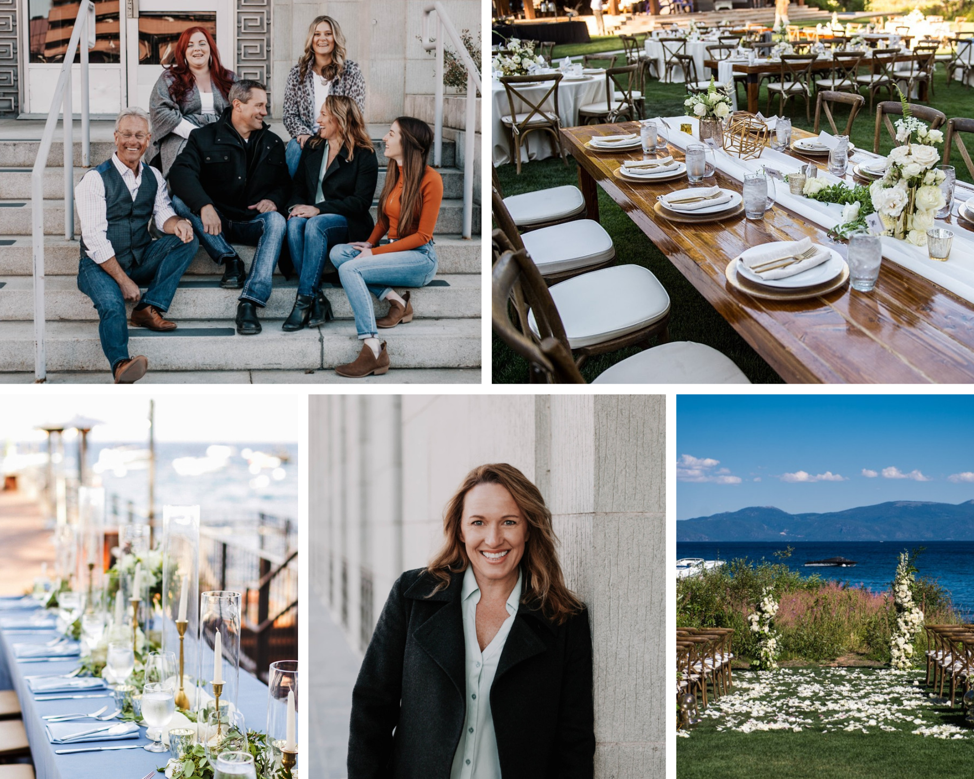 Lake Tahoe wedding planners - Blue Sky Events