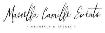 Marcella Camille Events Lake Tahoe wedding planner logo